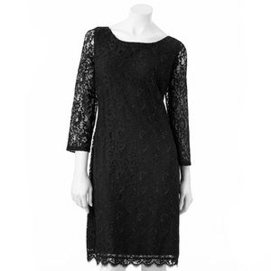 Dana Buchman Black Lace dress